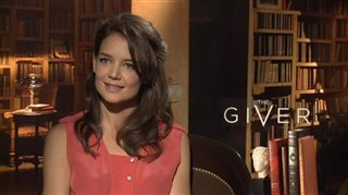 katie-holmes-the-giver Video Thumbnail