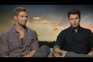 Kellan Lutz & Jackson Rathbone (The Twilight Saga: Breaking Dawn - Part 2) - Interview Video Thumbnail