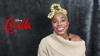 kirby-howell-baptiste-on-playing-anita-darling-in-cruella Video Thumbnail