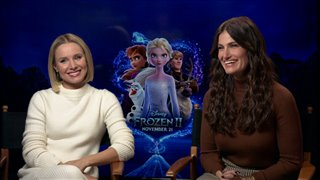 Kristen Bell & Idina Menzel talk about 'Frozen II'- Interview Video Thumbnail