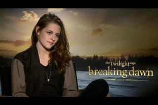 Kristen Stewart (The Twilight Saga: Breaking Dawn - Part 2) - Interview Video Thumbnail