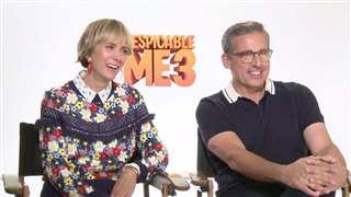 kristen-wiig-steve-carell-interview-despicable-me-3 Video Thumbnail
