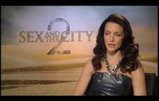 Kristin Davis (Sex and the City 2)- Interview Video Thumbnail