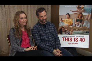 Leslie Mann & Judd Apatow (This is 40) - Interview Video Thumbnail