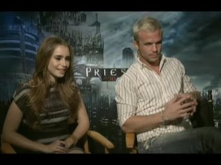 lilycollins_camgigandet_priest- Interview Video Thumbnail