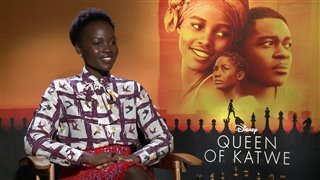 Lupita Nyong'o Interview - Queen of Katwe Video Thumbnail
