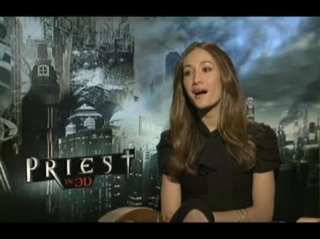 Maggie Q (Priest)- Interview Video Thumbnail
