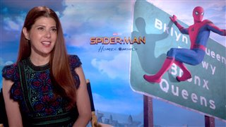 marisa-tomei-interview-spider-man-homecoming Video Thumbnail