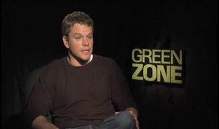 Matt Damon (Green Zone) - Interview Video Thumbnail