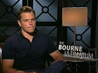 Matt Damon (The Bourne Ultimatum) - Interview Video Thumbnail