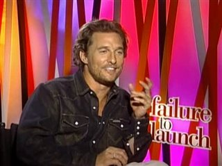 MATTHEW MCCONAUGHEY (FAILURE TO LAUNCH) - Interview Video Thumbnail