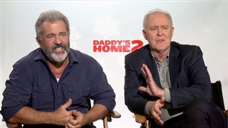 Mel Gibson & John Lithgow Interview - Daddy's Home 2 Video Thumbnail