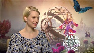 mia-wasikowska-interview-alice-through-the-looking-glass Video Thumbnail