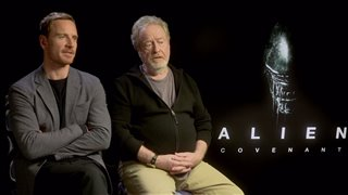 Michael Fassbender & Ridley Scott Interview - Alien: Covenant Video Thumbnail