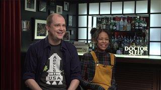 Mike Flanagan & Kyliegh Curran talk 'Doctor Sleep'- Interview Video Thumbnail