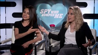 mila-kunis-kate-mckinnon-talk-the-spy-who-dumped-me Video Thumbnail