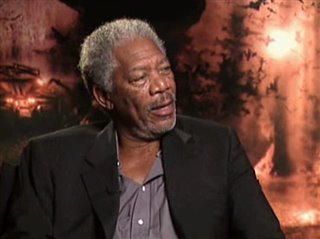 MORGAN FREEMAN - BATMAN BEGINS - Interview Video Thumbnail