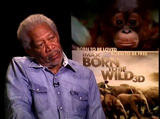 Morgan Freeman (Born to be Wild 3D) - Interview Video Thumbnail