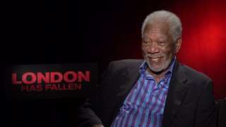 Morgan Freeman - London Has Fallen Interview Video Thumbnail