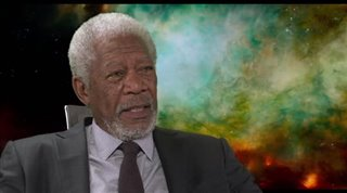 MorganFreeman_Lucy - Interview Video Thumbnail