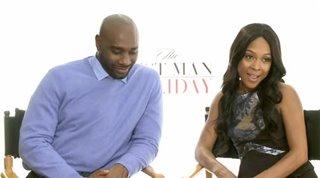 Morris Chestnut & Monica Calhoun (The Best Man Holiday)- Interview Video Thumbnail