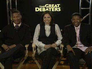 Nate Parker, Jurnee Smollett & Denzel Whitaker (The Great Debaters)- Interview Video Thumbnail