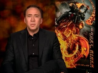Nicolas Cage (Ghost Rider: Spirit of Vengeance) - Interview Video Thumbnail