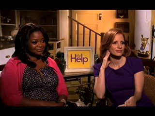 octavia-spencer-jessica-chastain-the-help Video Thumbnail