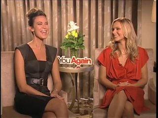 Odette Yustman & Kristen Bell (You Again)- Interview Video Thumbnail