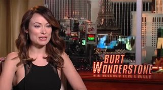 Olivia Wilde (The Incredible Burt Wonderstone) - Interview Video Thumbnail