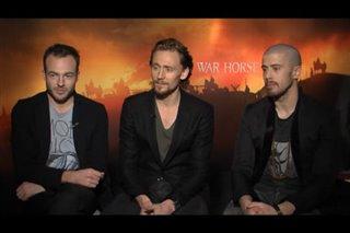 Patrick Kennedy, Tom Hiddleston & Toby Kebbell (War Horse)- Interview Video Thumbnail