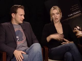 PATRICK WILSON & KATE WINSLET (LITTLE CHILDREN)- Interview Video Thumbnail