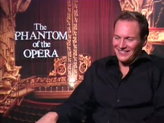 PATRICK WILSON - THE PHANTOM OF THE OPERA- Interview Video Thumbnail