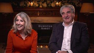 Phyllis Logan & Jim Carter talk 'Downton Abbey'- Interview Video Thumbnail