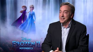 Producer Peter Del Vecho talks about filming 'Frozen II' Video Thumbnail