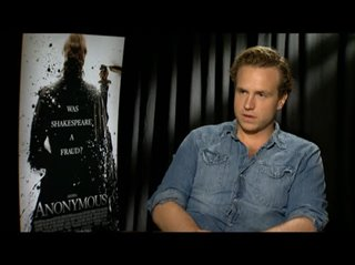 Rafe Spall (Anonymous) - Interview Video Thumbnail