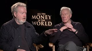 Ridley Scott & Christopher Plummer Interview - All the Money in the World Video Thumbnail