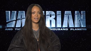 Rihanna Interview - Valerian and the City of a Thousand Planets Video Thumbnail