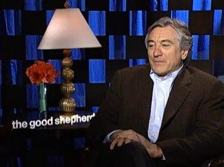 ROBERT DE NIRO (THE GOOD SHEPHERD)- Interview Video Thumbnail