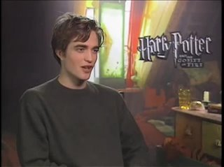 Robert Pattinson (Harry Potter and the Goblet of Fire)- Interview Video Thumbnail