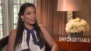 rosario-dawson-interview-unforgettable Video Thumbnail