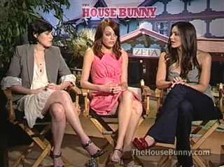 Rumer Willis Emma Stone Katharine Mcphee The House Bunny Interview Movie Trailers And Videos