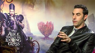 sacha-baron-cohen-interview-alice-through-the-looking-glass Video Thumbnail