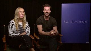 Sam & Aaron Taylor-Johnson talk 'A Million Little Pieces' - Interview Video Thumbnail