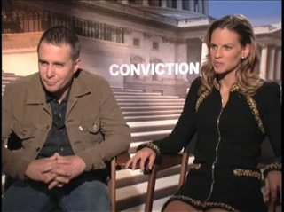 sam-rockwell-hilary-swank-conviction Video Thumbnail