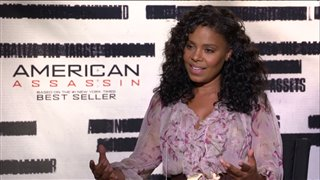 sanaa-lathan-interview-american-assassin Video Thumbnail