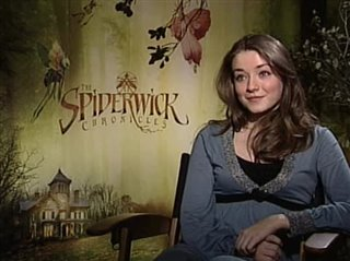 Sarah Bolger (The Spiderwick Chronicles)- Interview Video Thumbnail