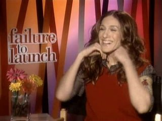 SARAH JESSICA PARKER (FAILURE TO LAUNCH) - Interview Video Thumbnail