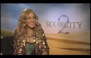 Sarah Jessica Parker (Sex and the City 2) - Interview Video Thumbnail
