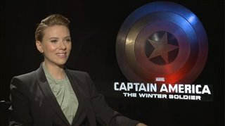 Scarlett Johansson (Captain America: The Winter Soldier)- Interview Video Thumbnail